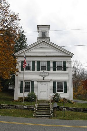 Alford, Massachusetts - Image: Alford Town Hall Susan Smith Andersen Library, Alford MA
