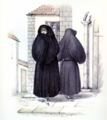 Alfred Diston, Manto y Saya Canaries (1829).png