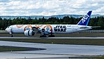 All Nippon Airways (Star Wars - BB-8 livery) Boeing 777-300ER (JA789A) at Frankfurt Airport (2).jpg
