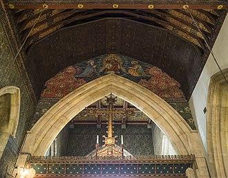 All Saints' Church, Cambridge - Image: All Saints' Church, Jesus Lane Chancel arch & rood screen