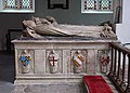 All Saints Church, Ashwelthorpe, Norfolk - Tomb chest - geograph.org.uk - 853005.jpg
