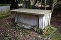 All Saints Church, Berners Roding, Essex damaged external tomb chest.jpg