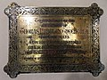 All Saints Church, Middle Claydon, Bucks, England - Rev Thomas Huntley Greene plaque.jpg