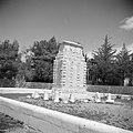Allenby-monument met daarop de tekst Near this spot, the Holy City was surrende, Bestanddeelnr 255-0341.jpg