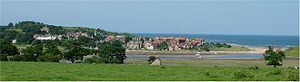 Alnmouth - Image: Alnmouth Northumberland 2005 06 25