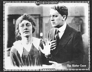 The Alster Case - Lobby card