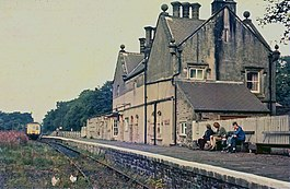 Alston station and Metro Cammell dmu from south.jpg