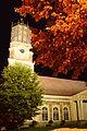 Aluliina luteri kirik öösel.JPG