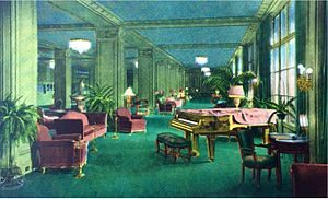 Ambassador Hotel (Los Angeles) - The lobby