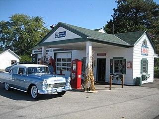 Amblers Texaco Gas Station
