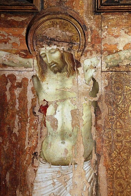 Crocifisso della Chiesa del Carmine, data imprecisata (probabile 1324-1331), tempera e oro su tavola, dalla chiesa del Carmine di Siena, Pinacoteca Nazionale, Siena
