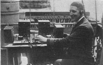 Ultra low frequency - Listening to 500 Hz signal of Ambrose Channel pilot cable in 1920