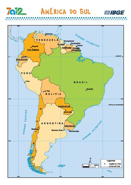 Mapa Político De Sudamérica.File America Do Sul Mapa Politico Mapa Escolar Ibge Brasil