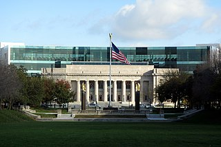 The Indianapolis Public Library's Central Library is the hub of its 23-branch system.