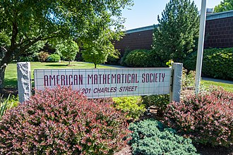 American Mathematical Society - Image: American Mathematical Society, Providence office