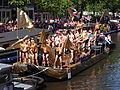Amsterdam Gay Pride 2013 boat no44 UpstreamA,sterdam pic8.JPG