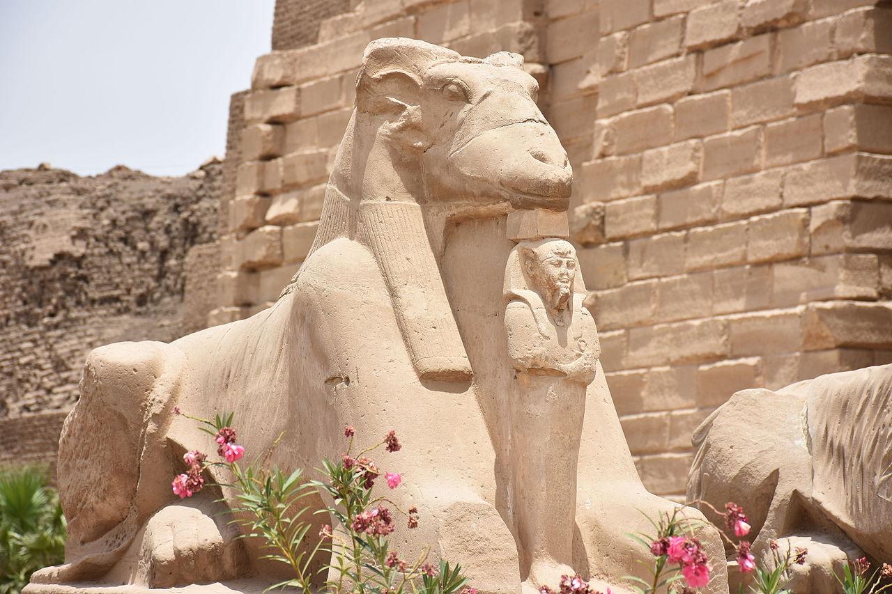 Statue of Amun at Karnak