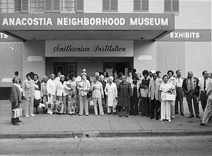 Louise Daniel Hutchinson - Hutchinson with the Anacostia Historical Society in 1967.
