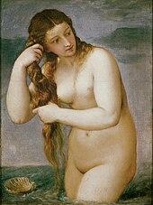 Venus Anadyomene, by Titian (ca. 1525)