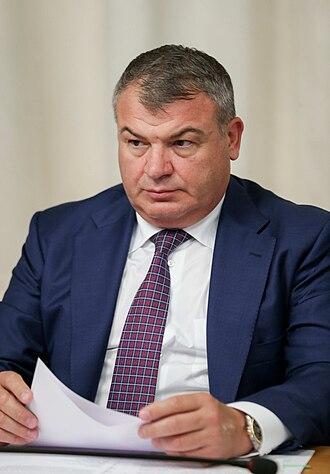 Anatoliy Serdyukov - Image: Anatoliy Eduardovich Serdyukov 2018