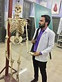 Anatomy lab in Baba Mast nath university..jpg