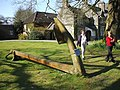 Anchor at Baronscourt - geograph.org.uk - 384113.jpg