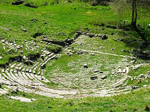 Igoumenitsa - The ancient theatre of Titani.