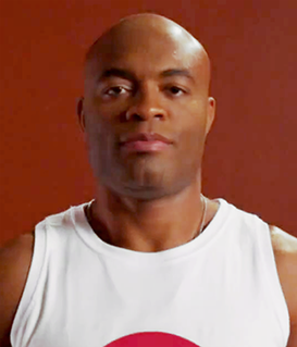 Anderson Silva Brazilian mixed martial arts fighter
