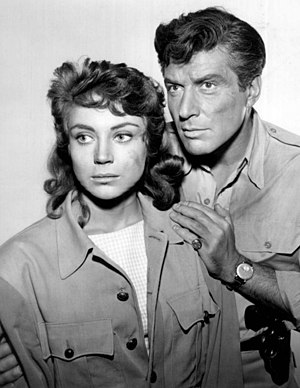 77 Sunset Strip - Andra Martin as a guest star on 77 Sunset Strip with Efrem Zimbalist Jr., 1960