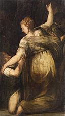 Andrea Schiavone - Kneeling Woman with Child GG 2364.jpg