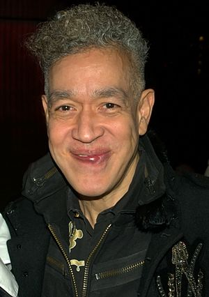 Andres Serrano - Serrano in 2010 at Michael Musto's Village Voice 25th Anniversary party