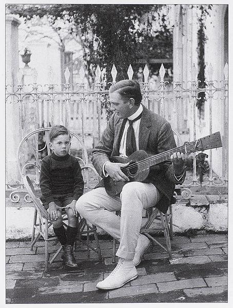File:Andrew Galliano playing guitar (1913).jpg