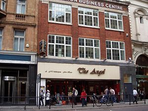 The Angel, Islington - The modern Angel pub, run by J D Wetherspoon
