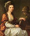 Angelika Kauffmann Selbstbildnis mit Büste der Minerva 1780.jpg
