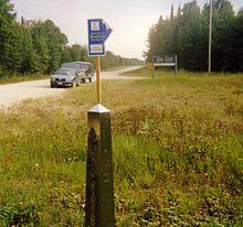 List Of CanadaUnited States Border Crossings Wikipedia - Saskatchewan us border crossings map