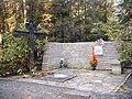 Anna Ahmatova's grave.jpg