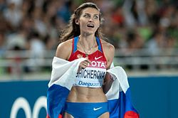 Anna čičerovová na ms 2011