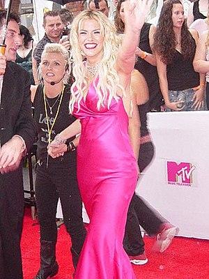 Anna Nicole Smith - Smith at the 2005 MTV Australia Video Music Awards