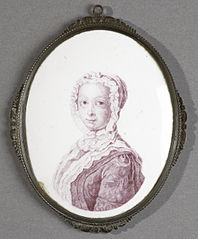 Anna van Hannover (1709-59). Sister to Frederick Louis, Prince of Wales, and wife of Prins Willem IV.