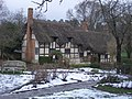 Anne Hathaway's Cottage In The Snow - geograph.org.uk - 352578.jpg