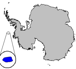 Location of Peter I Island