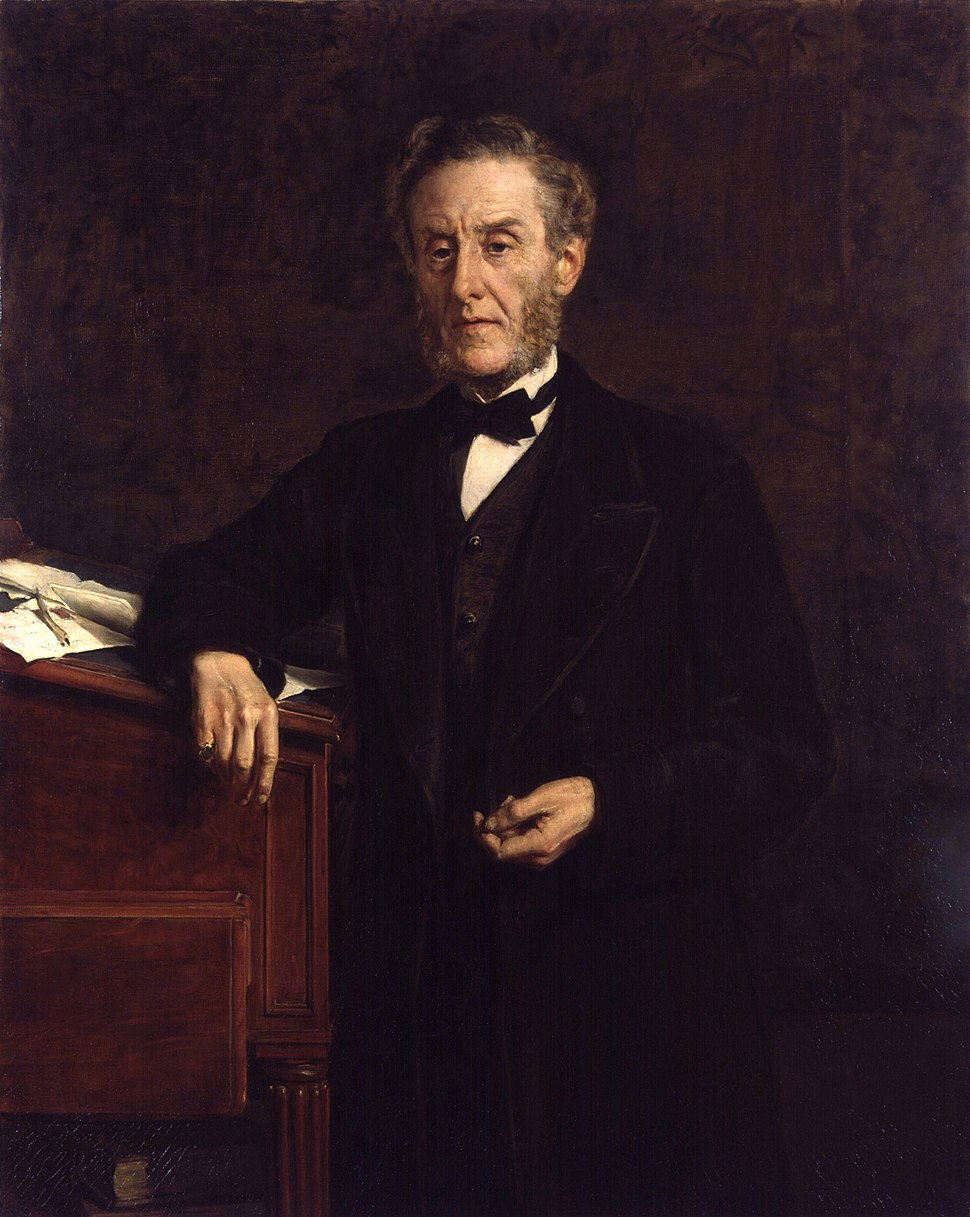 Anthony Ashley-Cooper, 7th Earl of Shaftesbury by John Collier