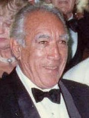 Anthony Quinn filmography - Anthony Quinn at the 40th Primetime Emmy Awards, in 1988.