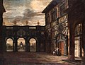 Anton Gunther Gheringh or Jacob Balthasar Peeters - View through an Architectural Setting, Courtyard at Rubens' House.jpg