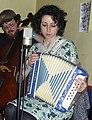 Antonia Begonia accordion MACRoCk 2009 Little Grill Collective Harrisonburg VA April 2009.jpg