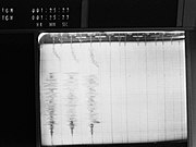 Apollo 13 S-IVB-Instrument Unit Impact (S70-34985)