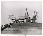 Appontage sur le Dixmude le 7 mai 1956 à Bayonne (NJ).jpg