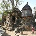 Architecture artisanale de l'extrême nord Cameroun.jpg