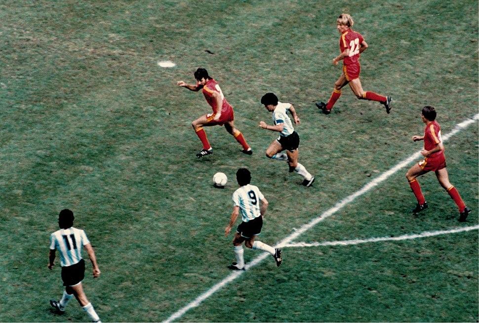 Argentina v belgica 1986