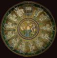 Arian Baptistry ceiling mosaic - Ravenna Edit.jpg